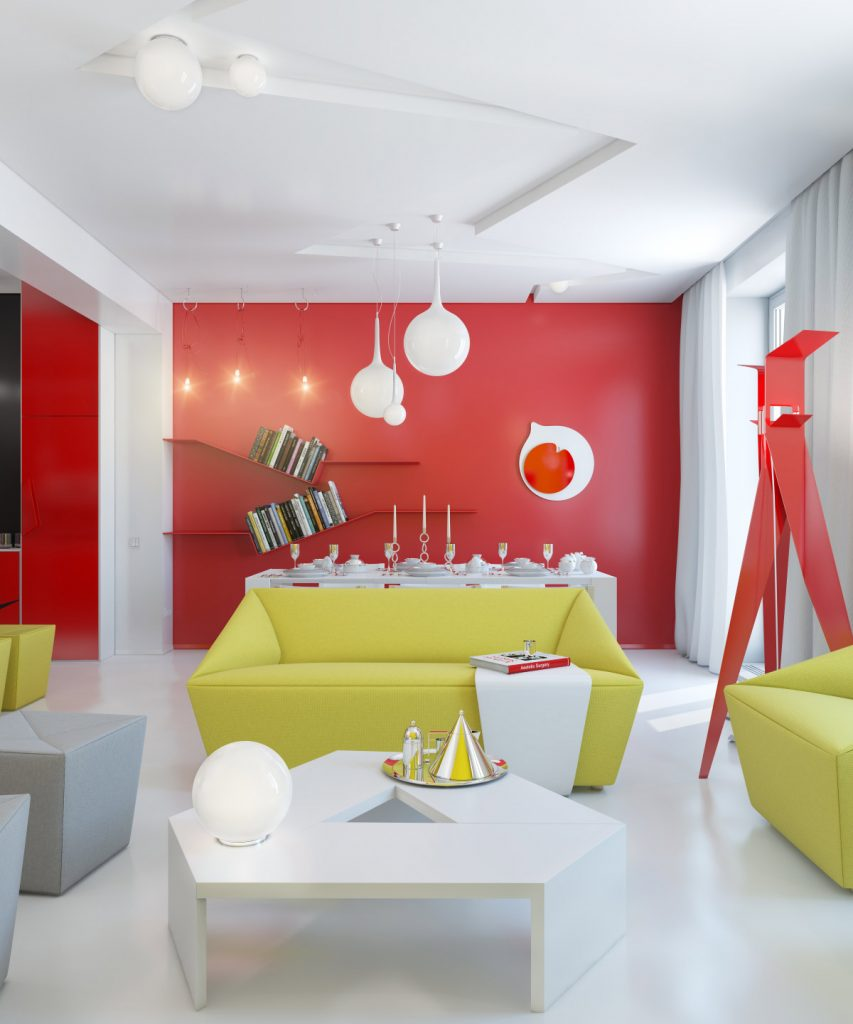 small apartment color scheme