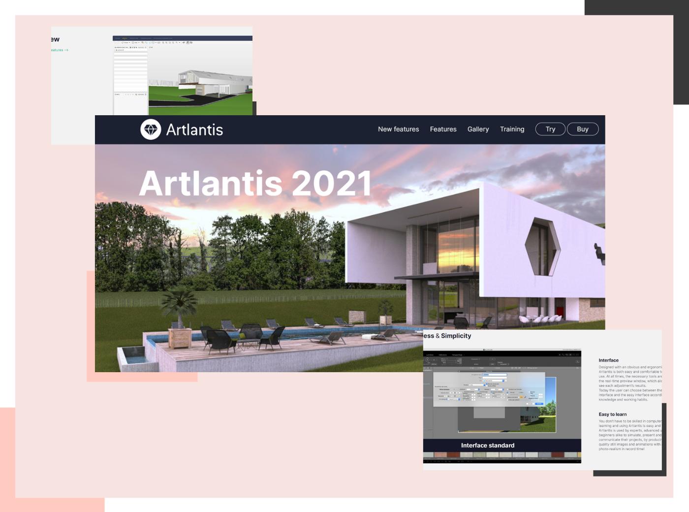 Artlantis rendering software