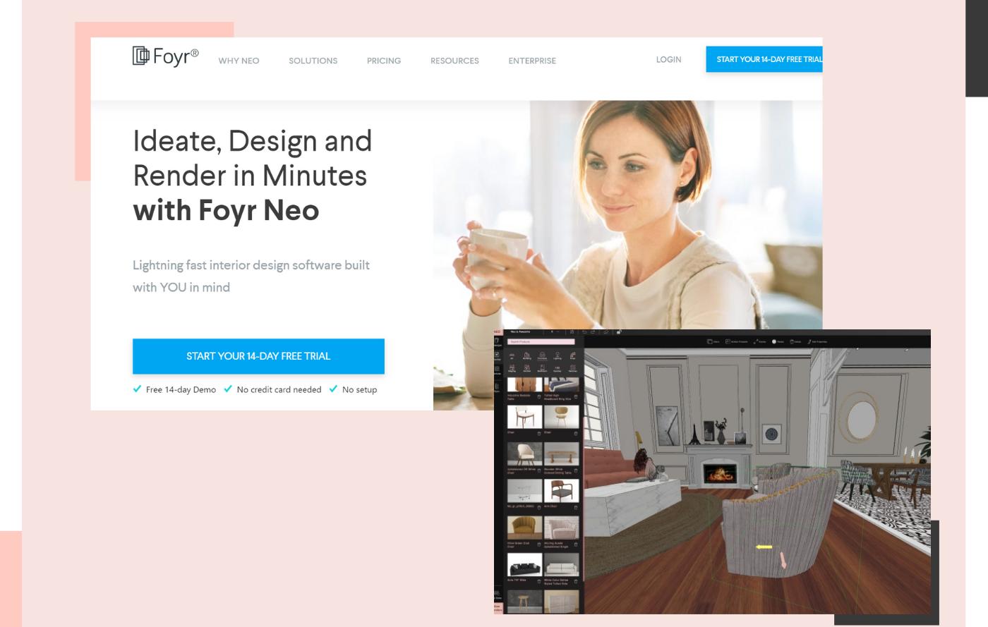 Foyr website