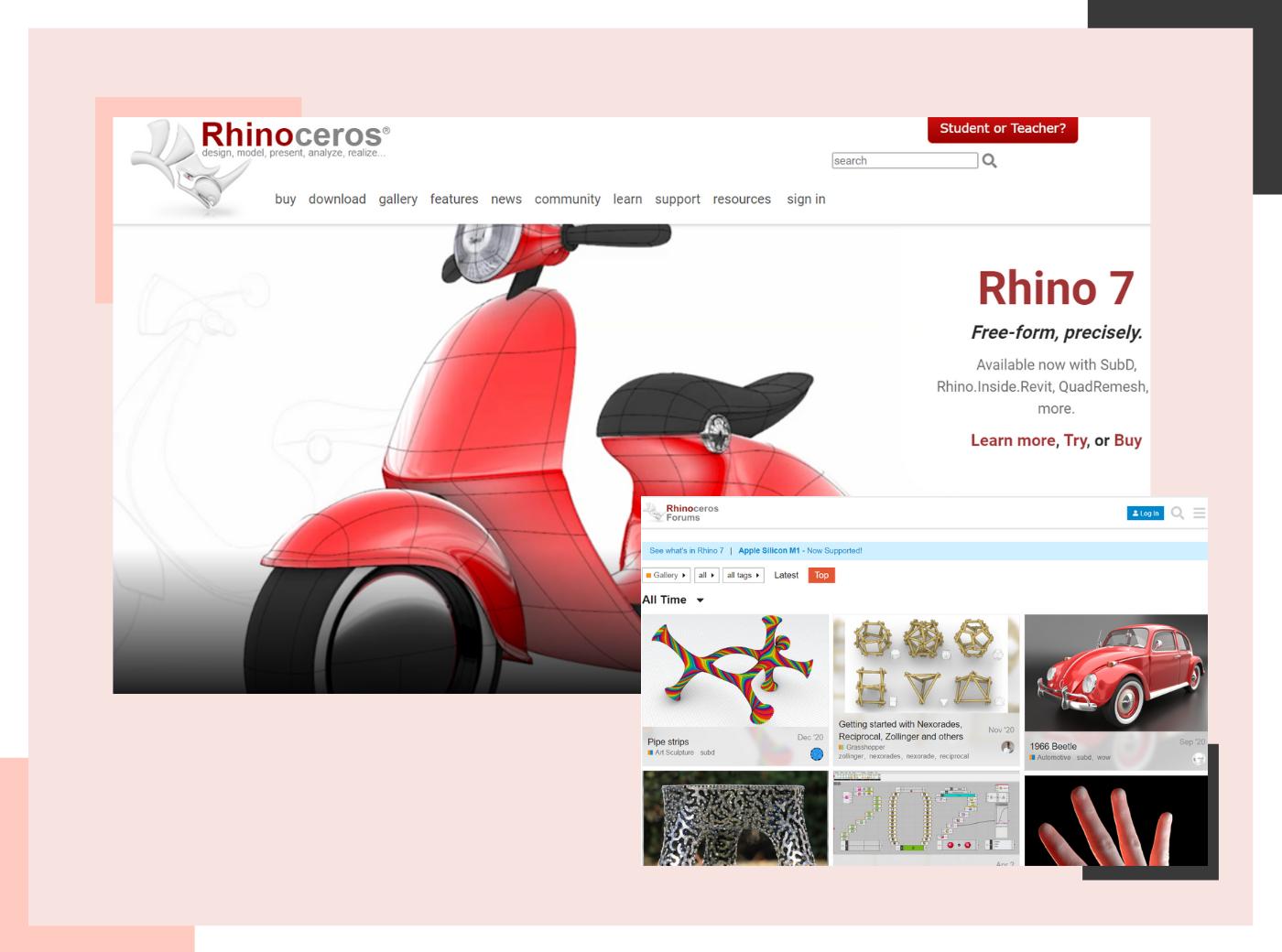 Rhino rendering software