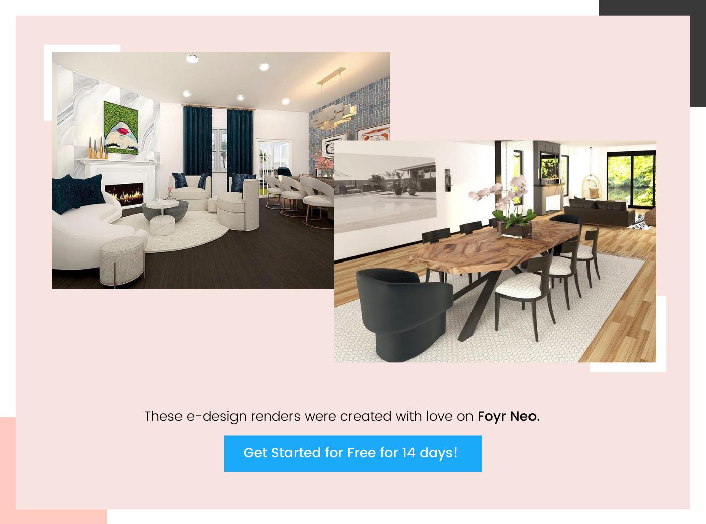 foyr e-design renders 2