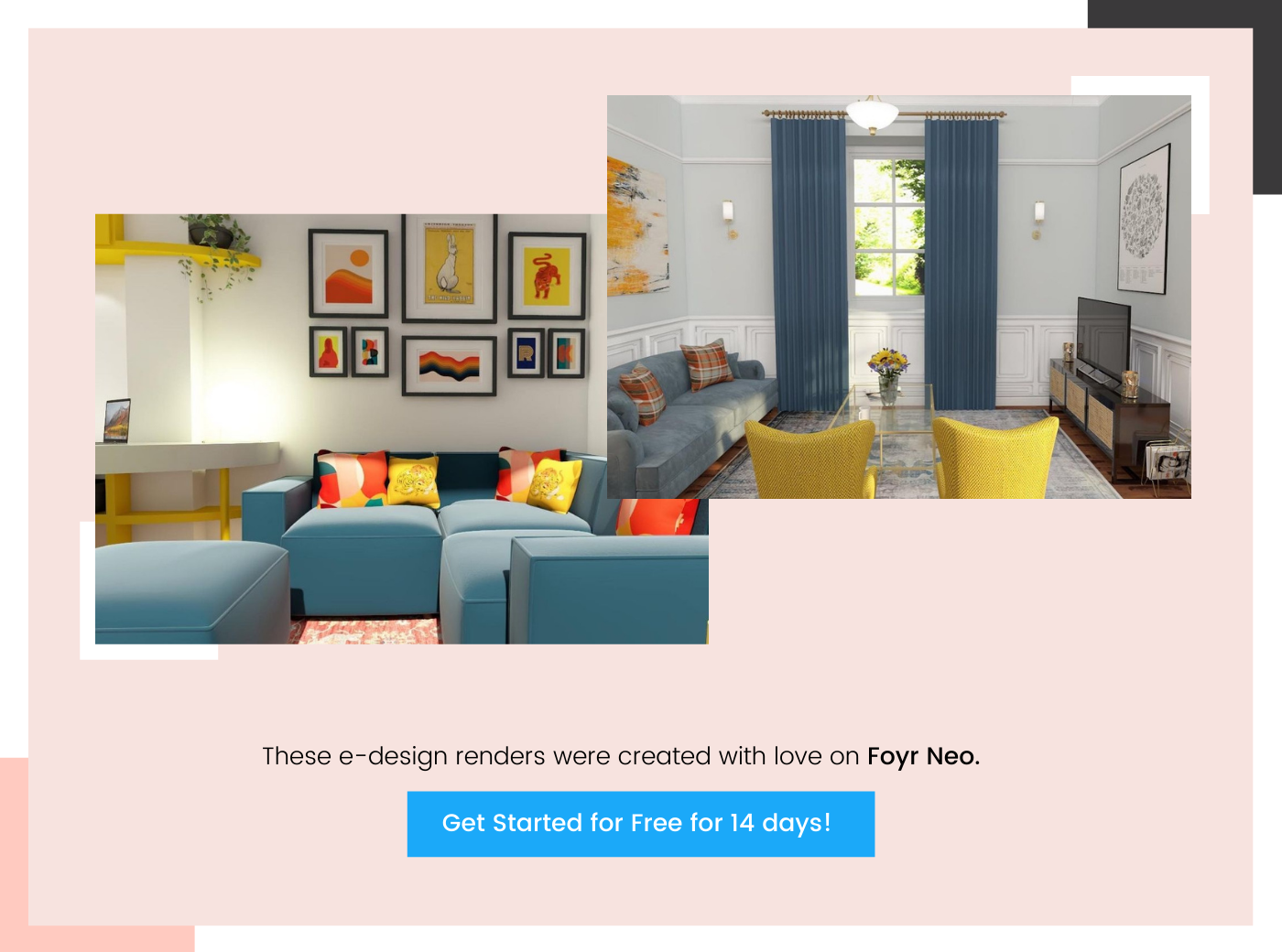 foyr e-design renders 4