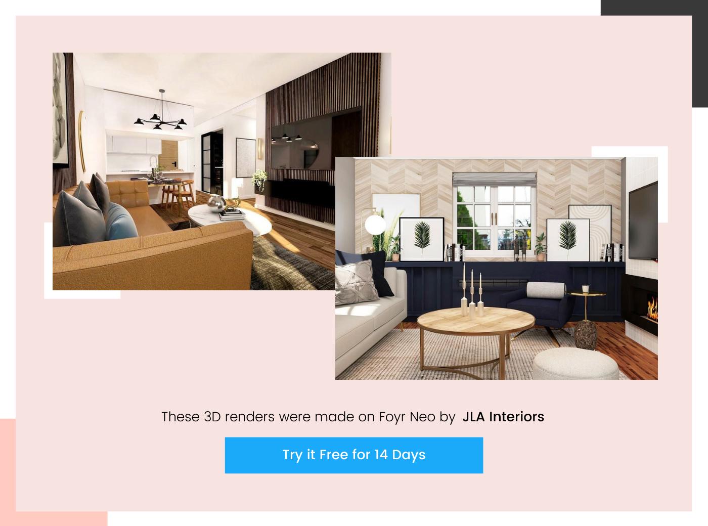 home design by JLA Interiors