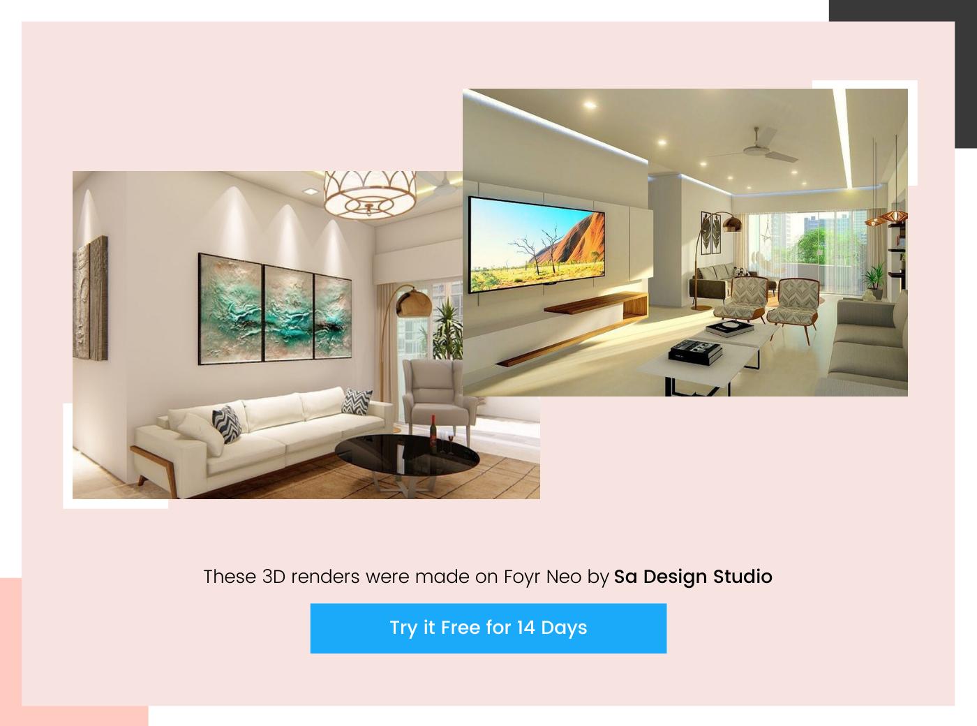 home design render by Sa Design Studio