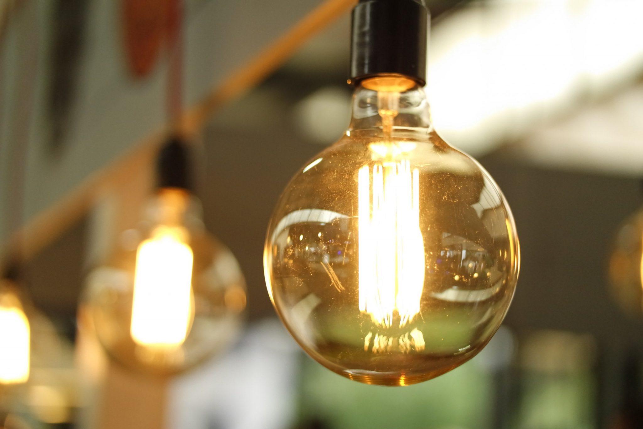 Energy-efficient LED light bulbs