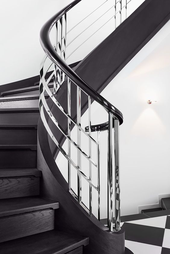 Bent Metal Types of Staircase