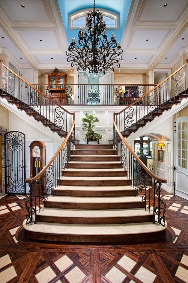Bifurcated Staircase