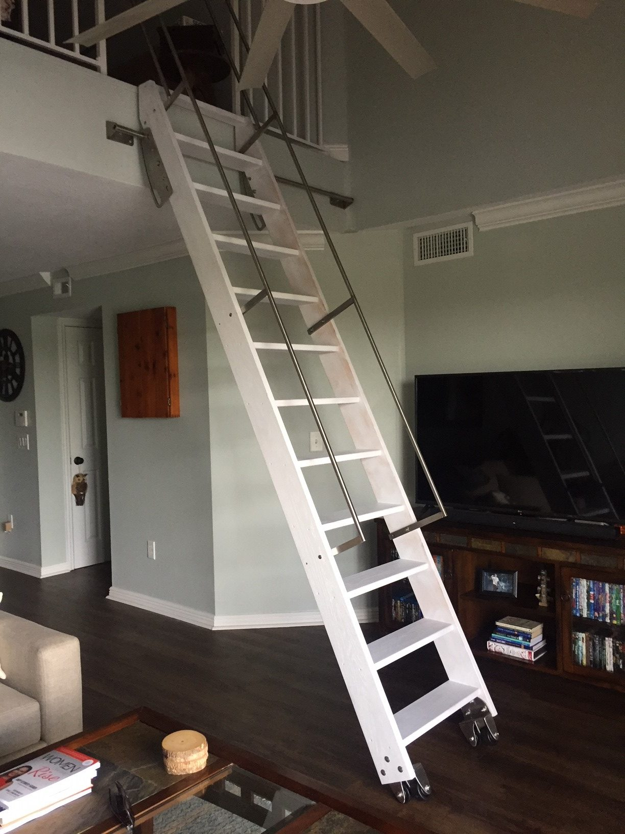 Ladder Staircase