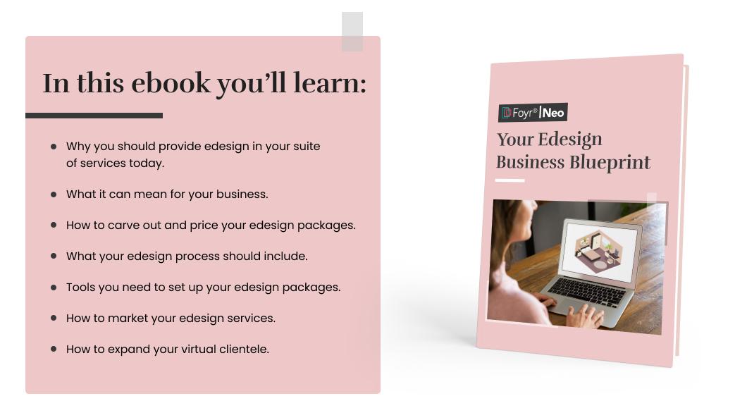 Learn from e-design business blueprint