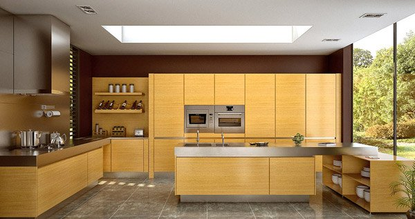 Modern Kitchens with Wood Finishes