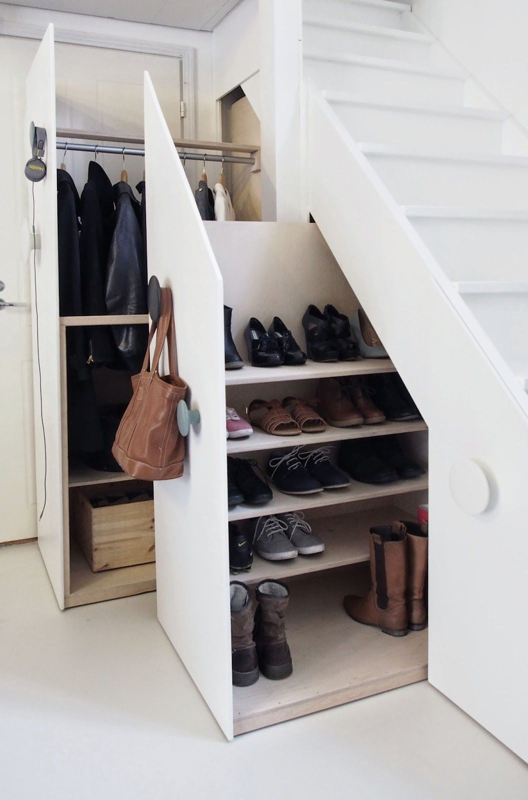 Storage Types of Staircase