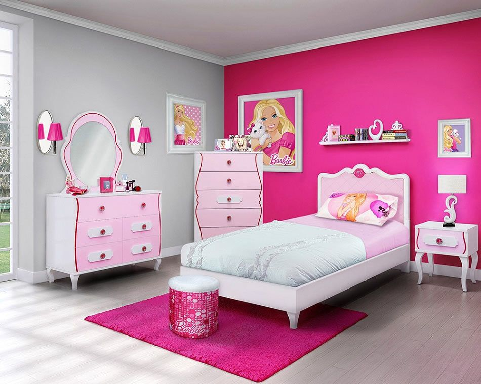 pink color in interior design