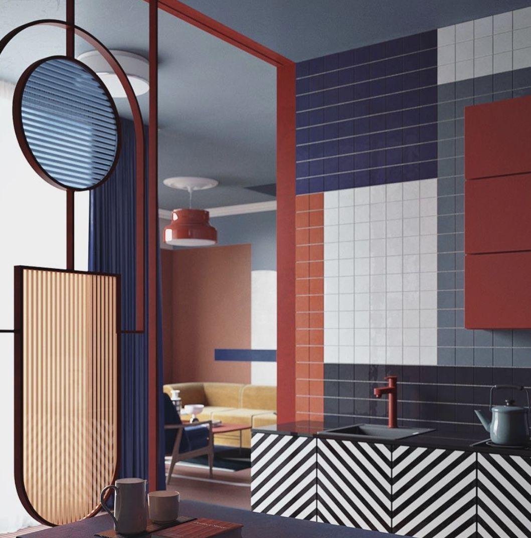 Futuristic kitchen Design from Zaria Zinovatnaya