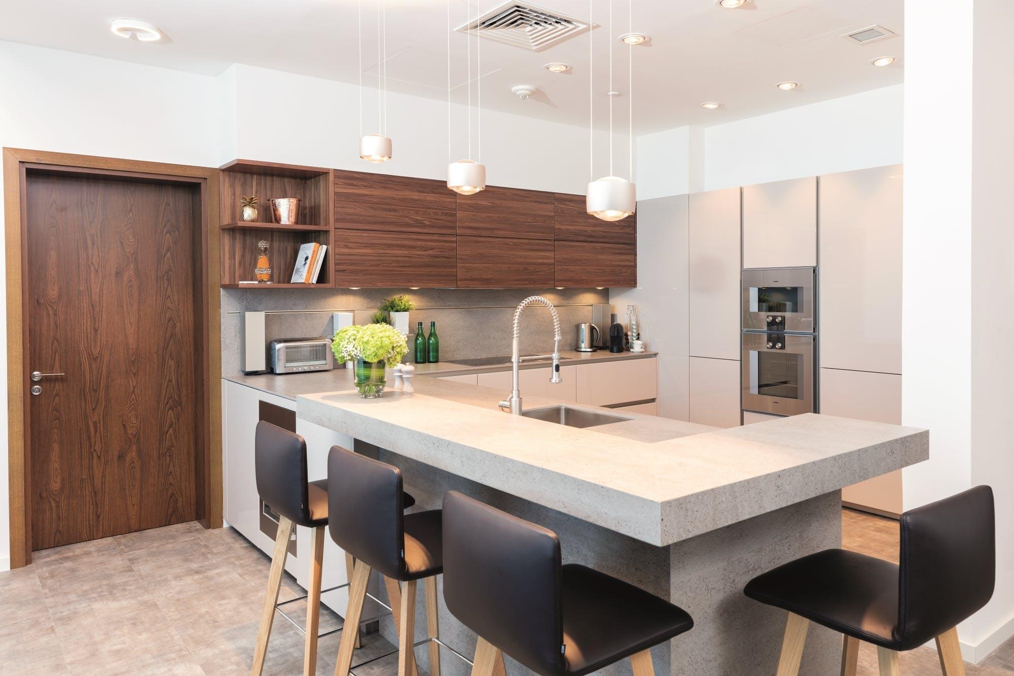 futuristic kitchen interior design