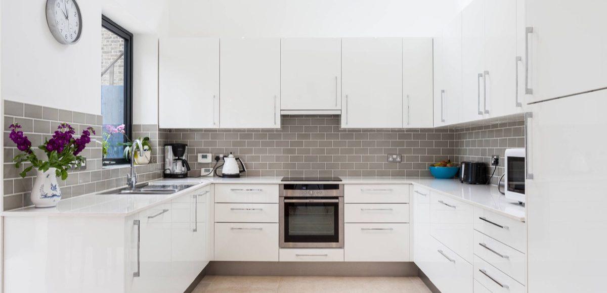 U shaped kitchen design layout