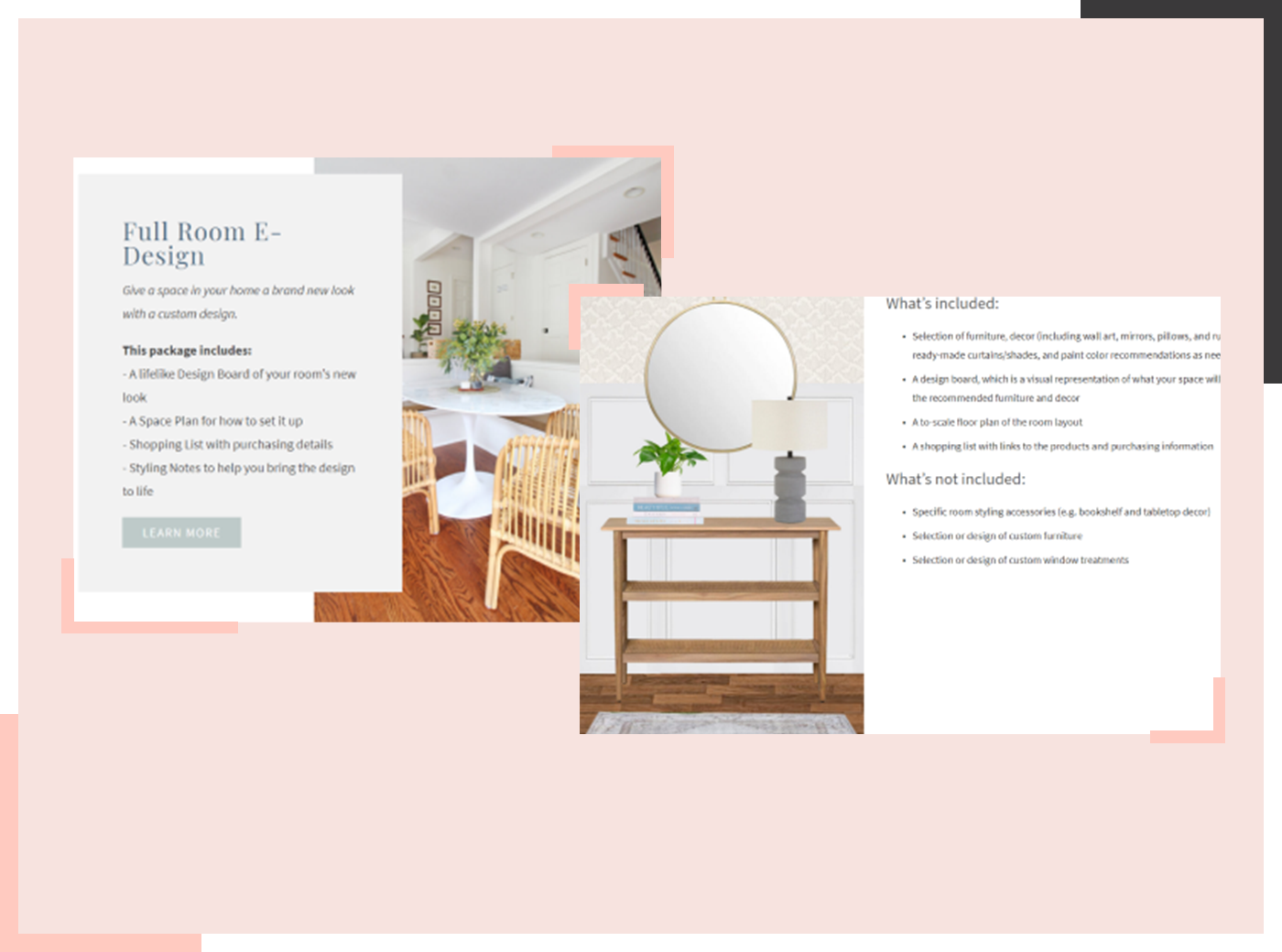 e-design packages example 2