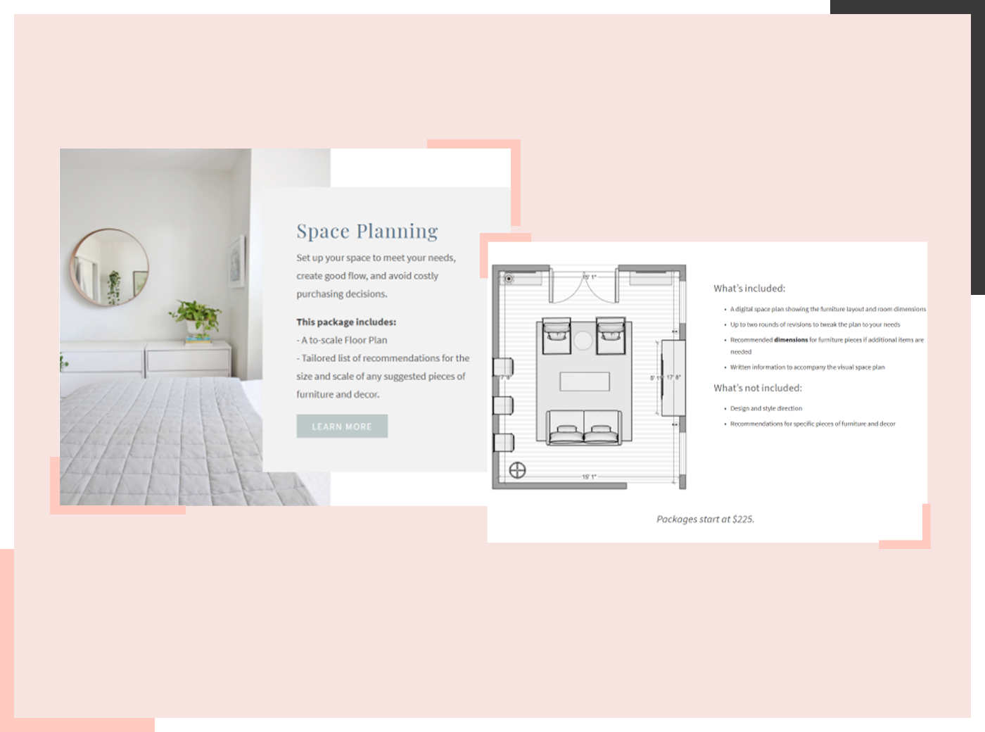 e-design packages example 3