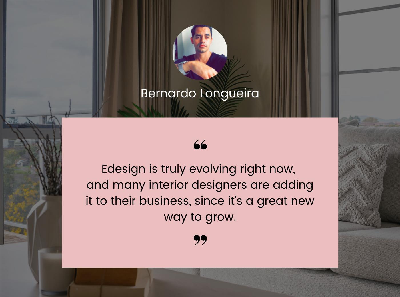 why E-design - Bernardo