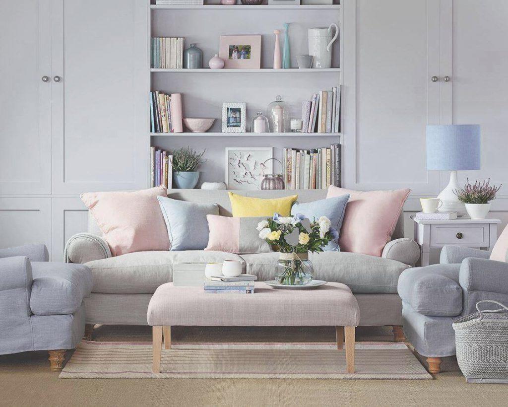 living room spring decor ideas