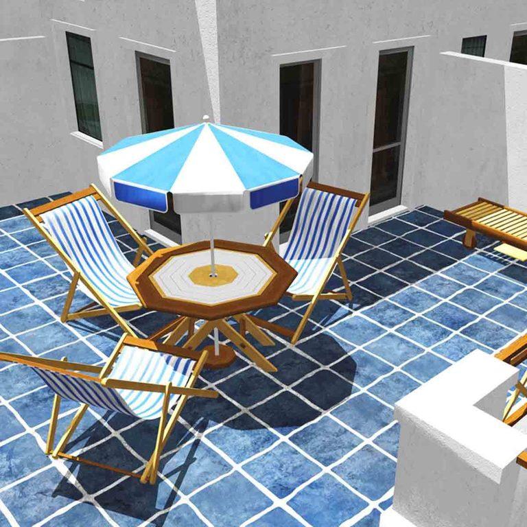 Ceramic Tile Patio design ideas