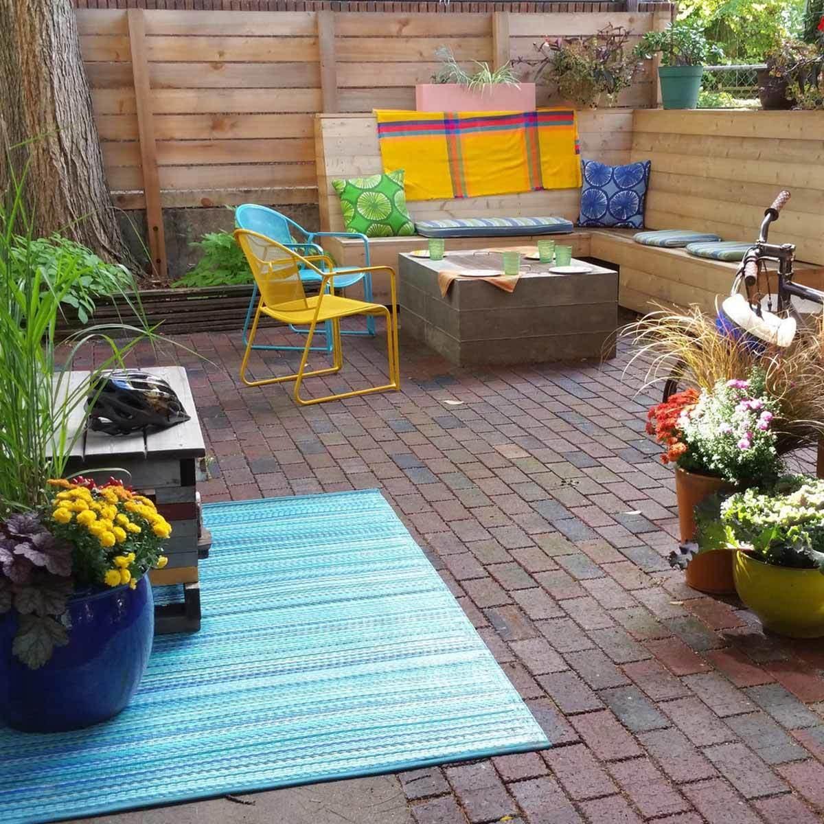 Cobblestone Brick Patio design ideas