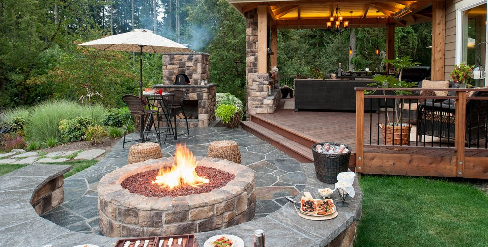 Completely Planned Patio Design