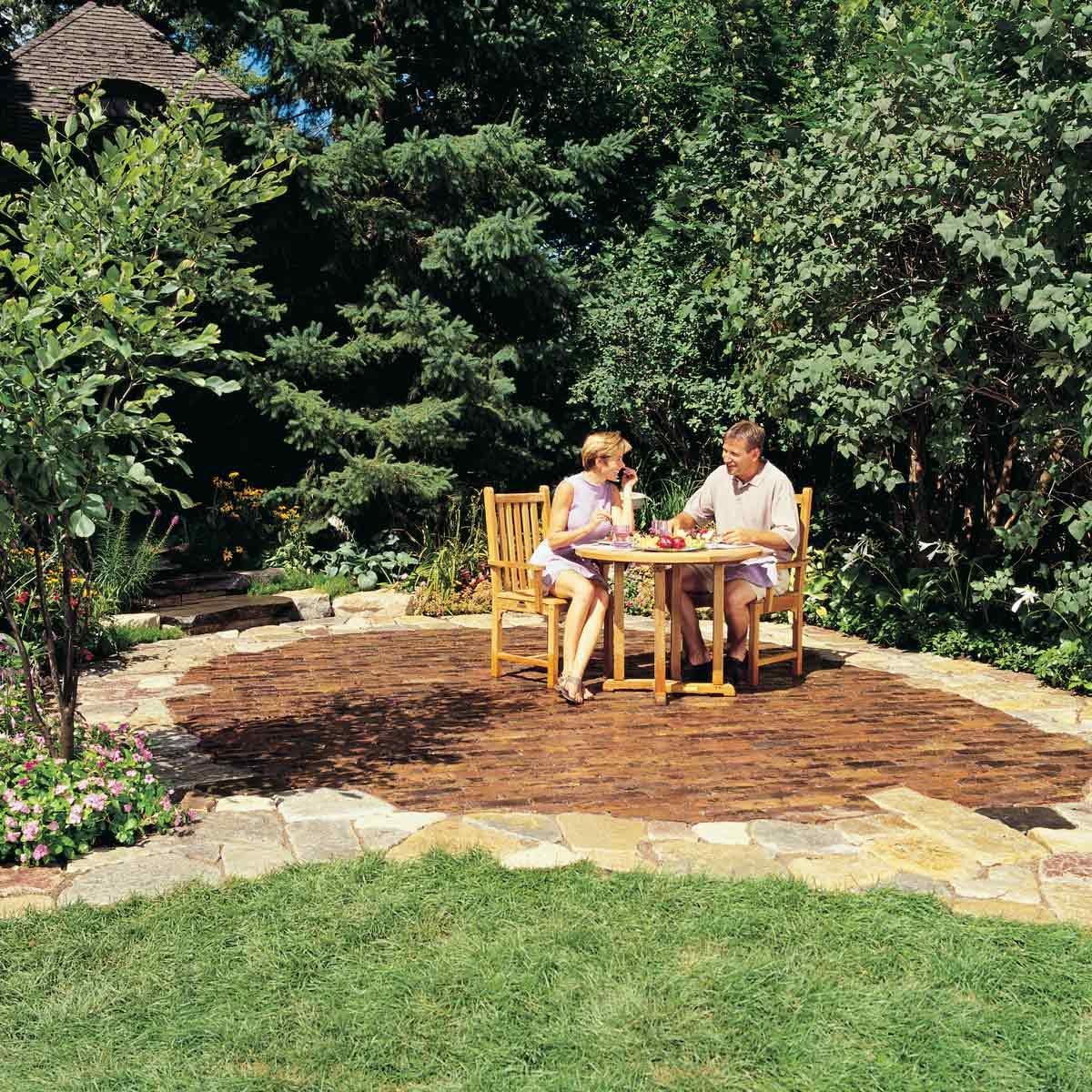 Eco friendly Rock Patio design ideas