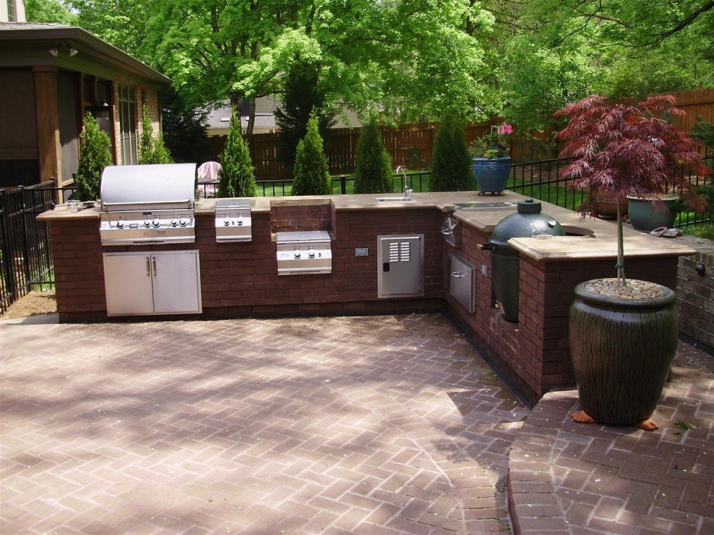 Patio design ideas includes Grilling Station