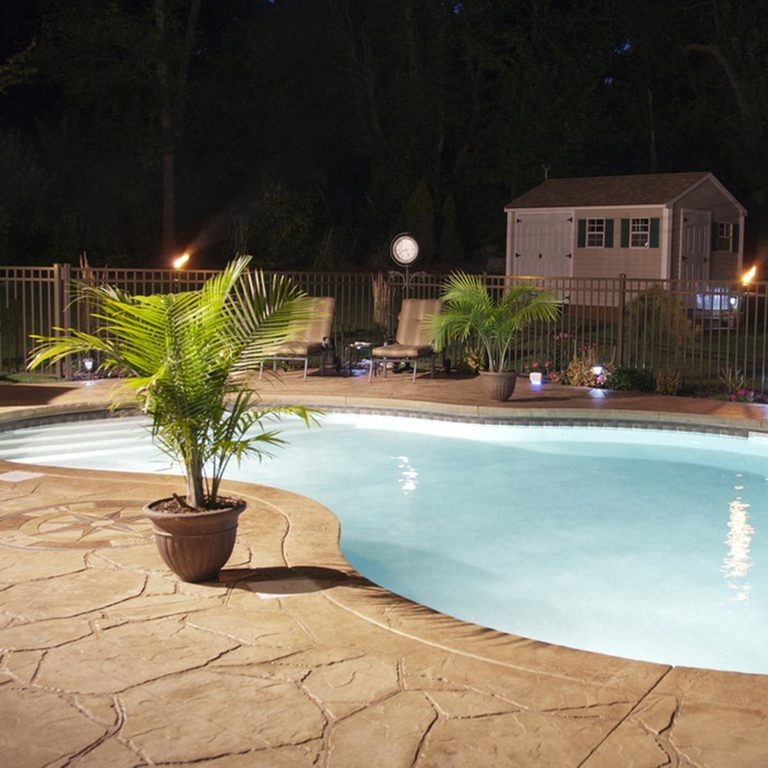 Stamped Concrete - patio design ideas