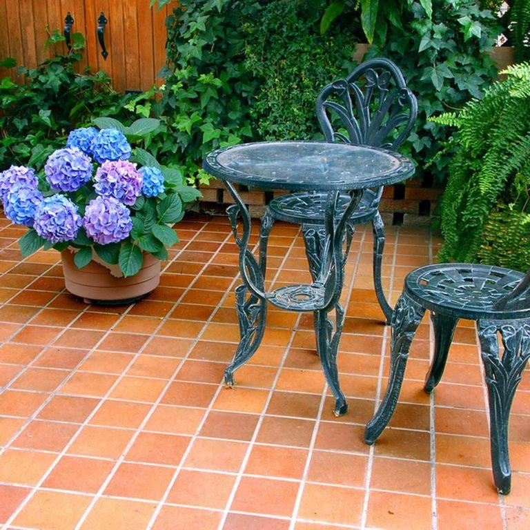 Terracotta Patio design ideas