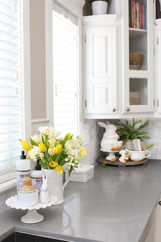 easy spring ideas for kitchen