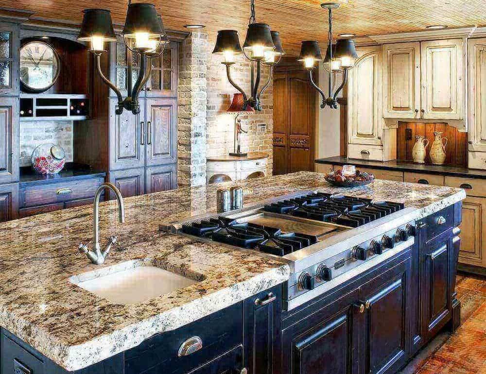 farmhourse sink kitchen design