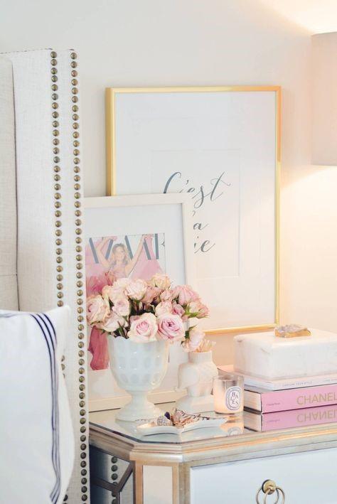 floral in bedroom