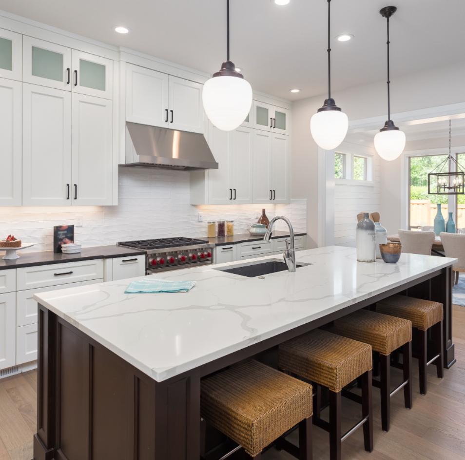 high end luxury kitchen island
