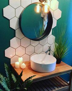honeycomb-tiled-bathroom-remodeling-ideas