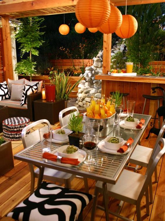 include melamine plates front porch decorating ideas
