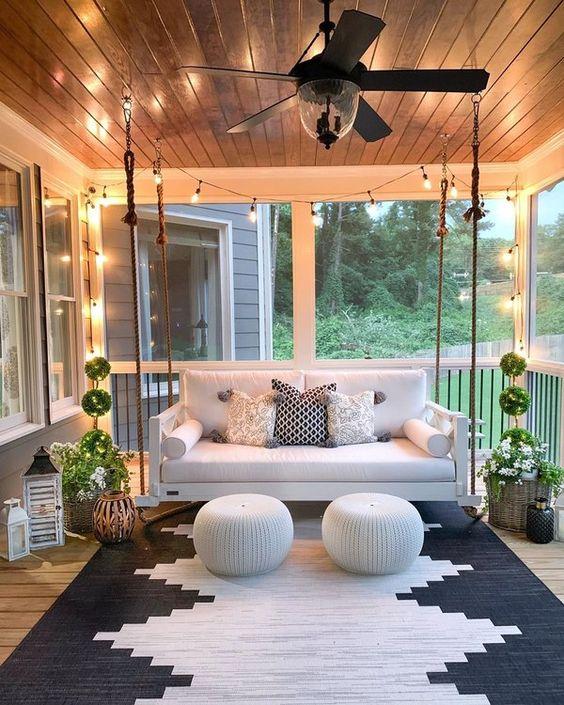 incorporate more lighting porch decorating ideas