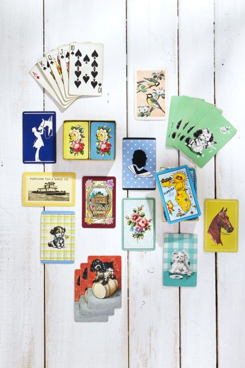 incorporate play cards porch decorating ideas