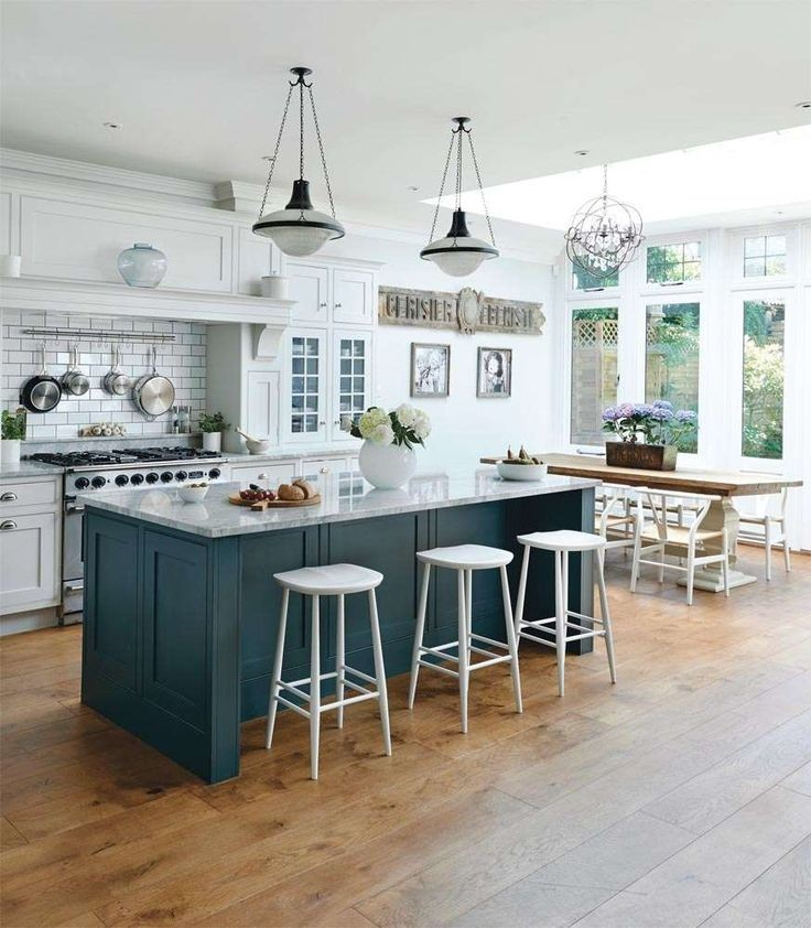 kitchen design with marble countertops