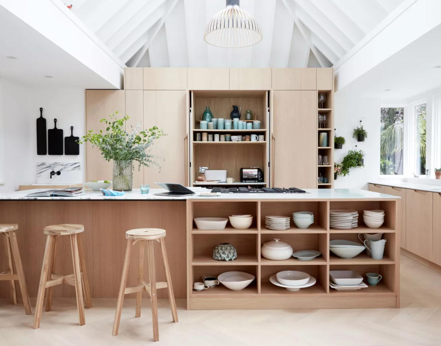kitchen design with storage
