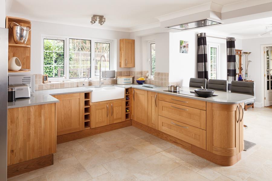 kitchen wood cabinet design