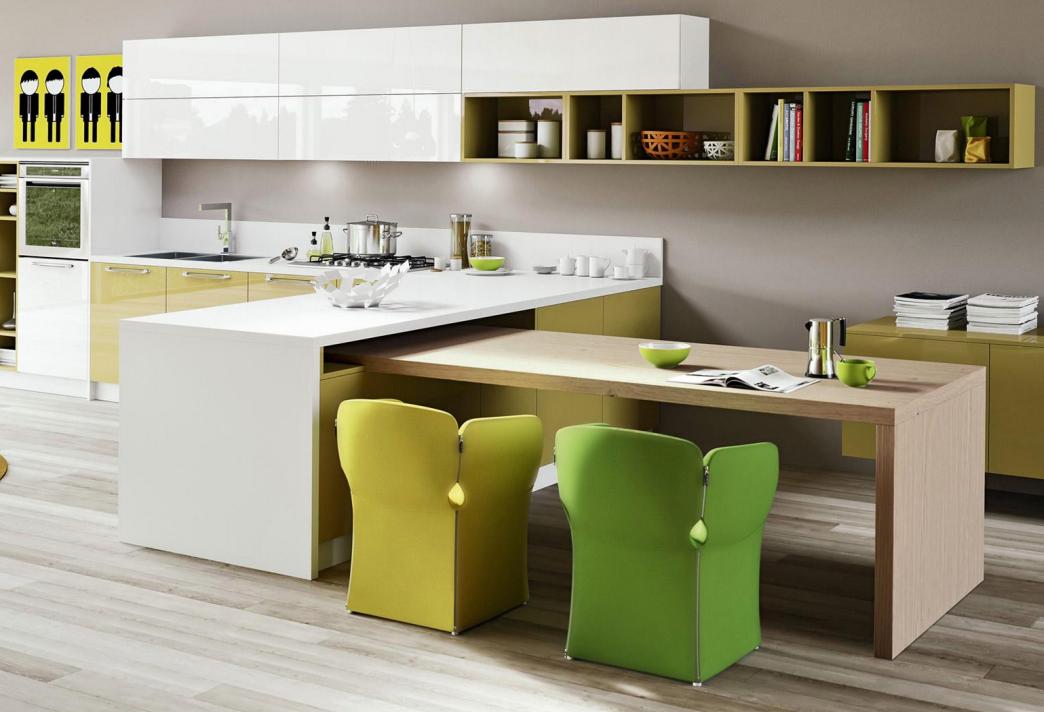 latest kitchen island trends