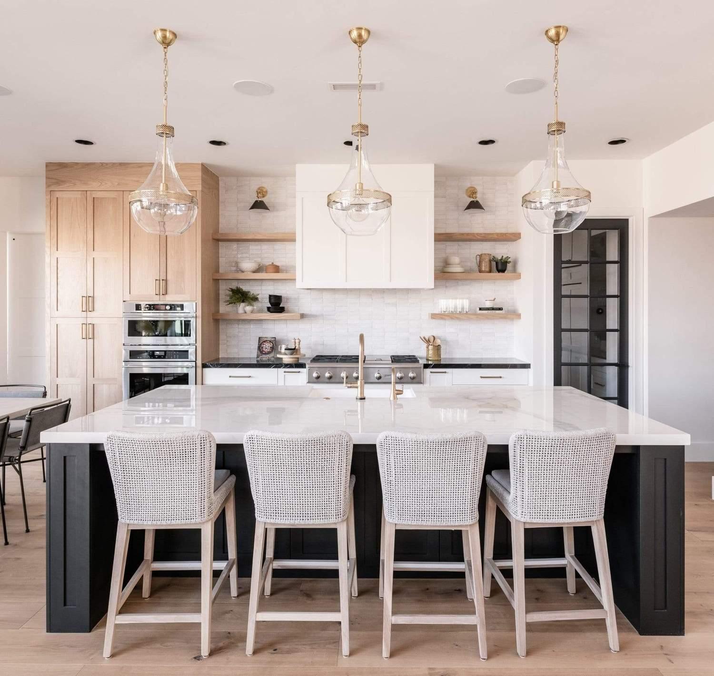 marble countertop kitchen design ideas