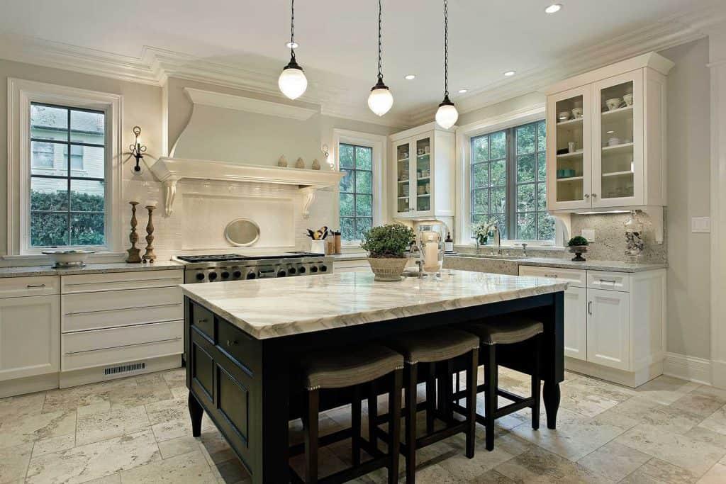 marble countertops kitchen design