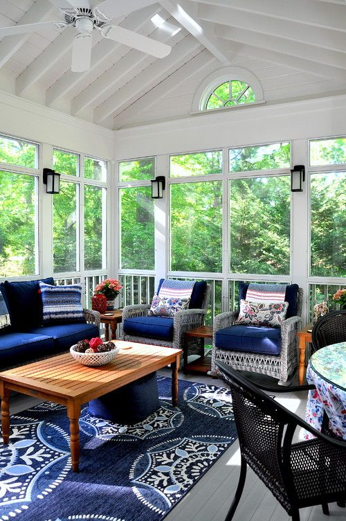 master the print pattern mix front porch decorating ideas