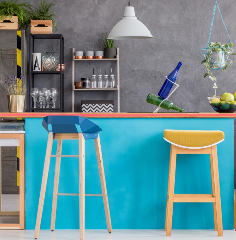 modern and personalized kitchen island