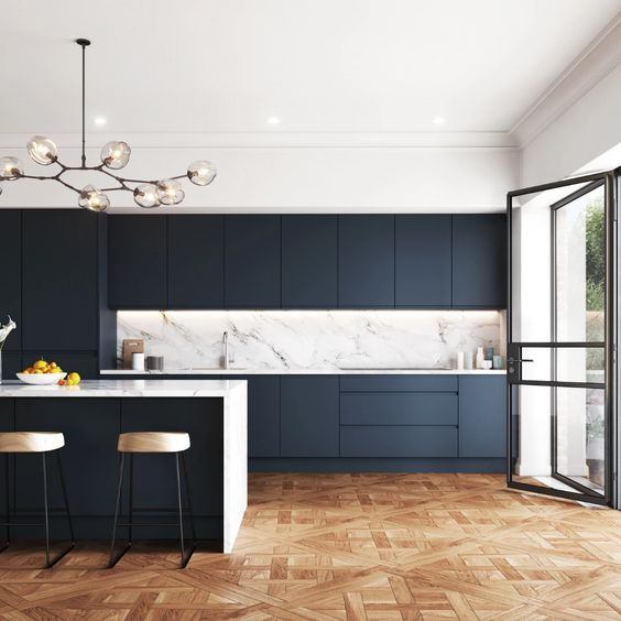 modern and sophisticated kitchen design