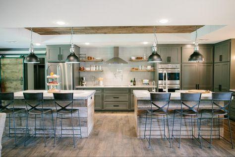 most trendy kitchen island design