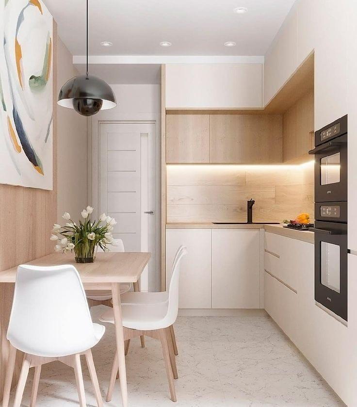 nordic theme kitchen design