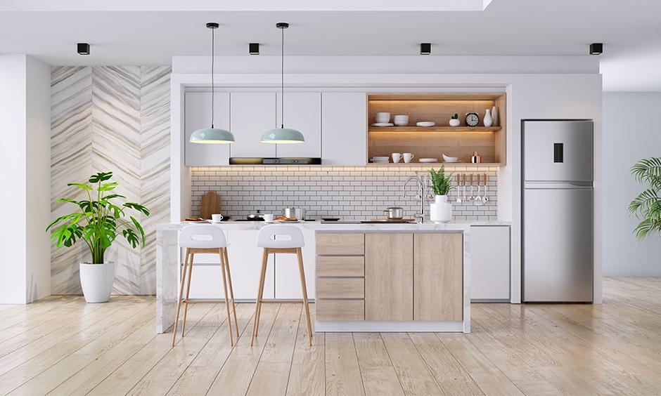 one wall kitchen design